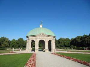 munich residenz hofgarten